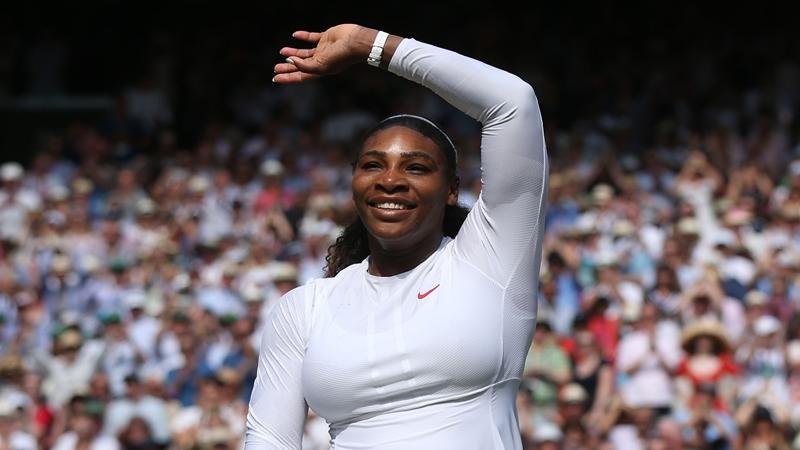 Serena Williams a dédicacé son retour à Wimbledon à «toutes les mamans»