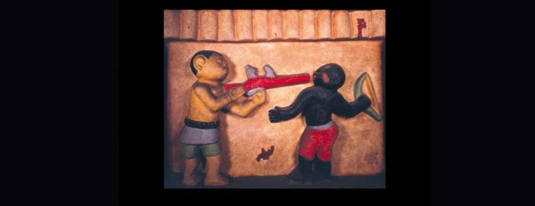 Les bas-reliefs d'Abomey : des BD sur les murs dans l'Afrique du 19ème siècle