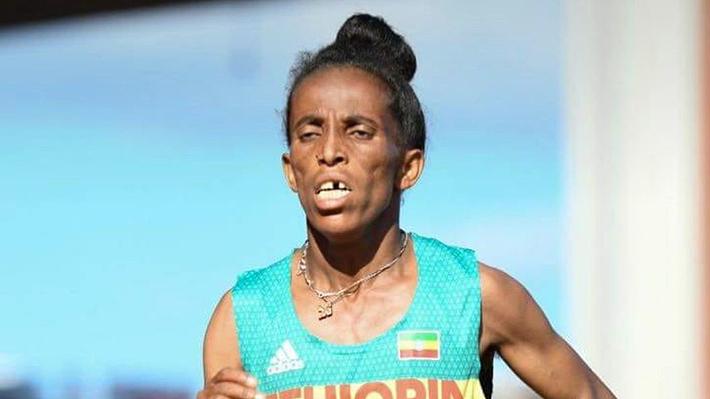 Les 16 ans de l'athlète éthiopienne Girmawit Gebrzihair  font polémique