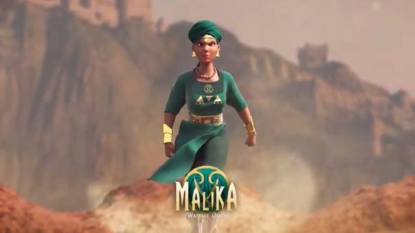 Malika, Warrior Queen : un projet de série animée sur l'histoire africaine