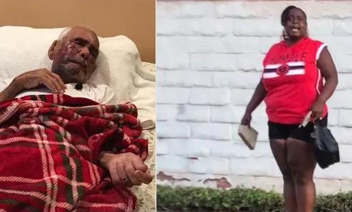 «Retourne dans ton pays»: une Noire Américaine insulte et agresse un Mexicain de 91 ans à coups de brique