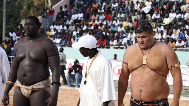 Ces Occidentaux qui se mettent à la lutte sénégalaise