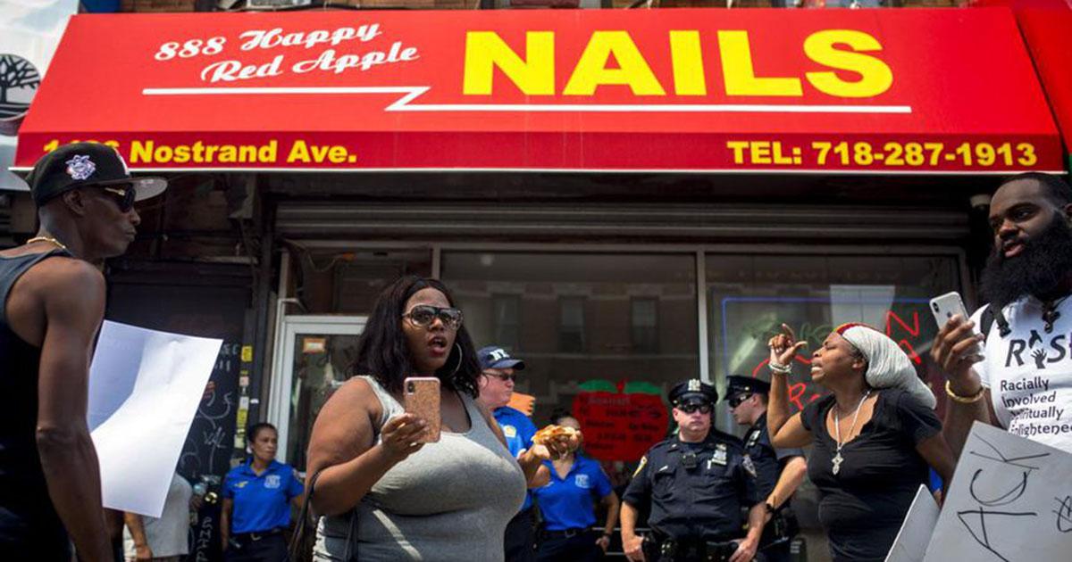 Après des agressions, des Noirs boycottent des boutiques asiatiques