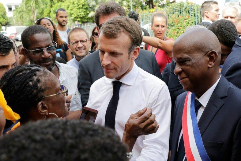 Chlordécone: Macron admet un «scandale environnemental»