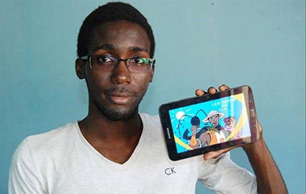 Ce jeune homme a créé « Les Héros du Sahel », un jeu 100% nigérien