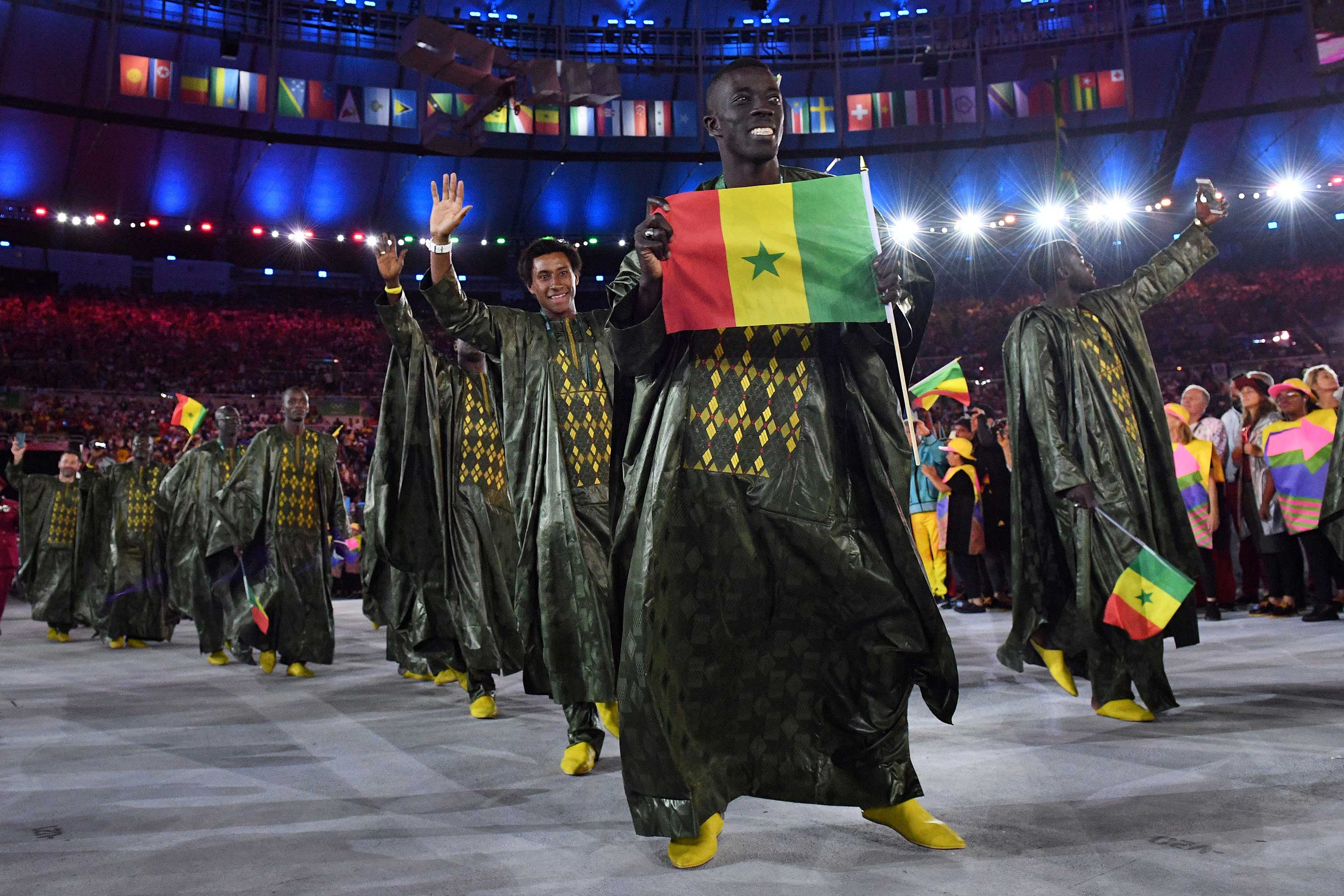 La délégation du Sénégal aux JO d'été de Rio en 2016