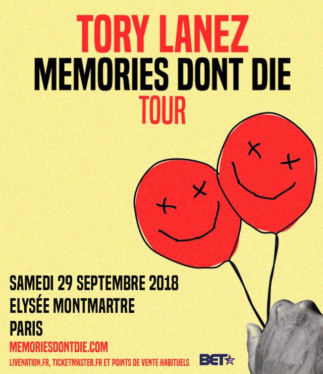 [TERMINE] Concert de TORY LANEZ