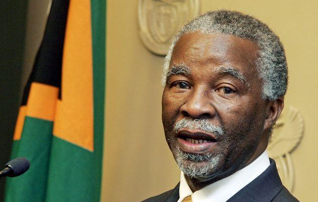 Thabo Mbeki accuse le Congrès national africain d'être un «parti de Noirs»