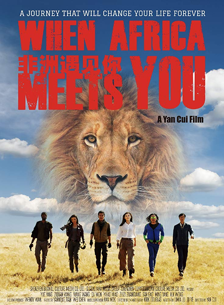 "affiche du film ""When Africa meets you"""