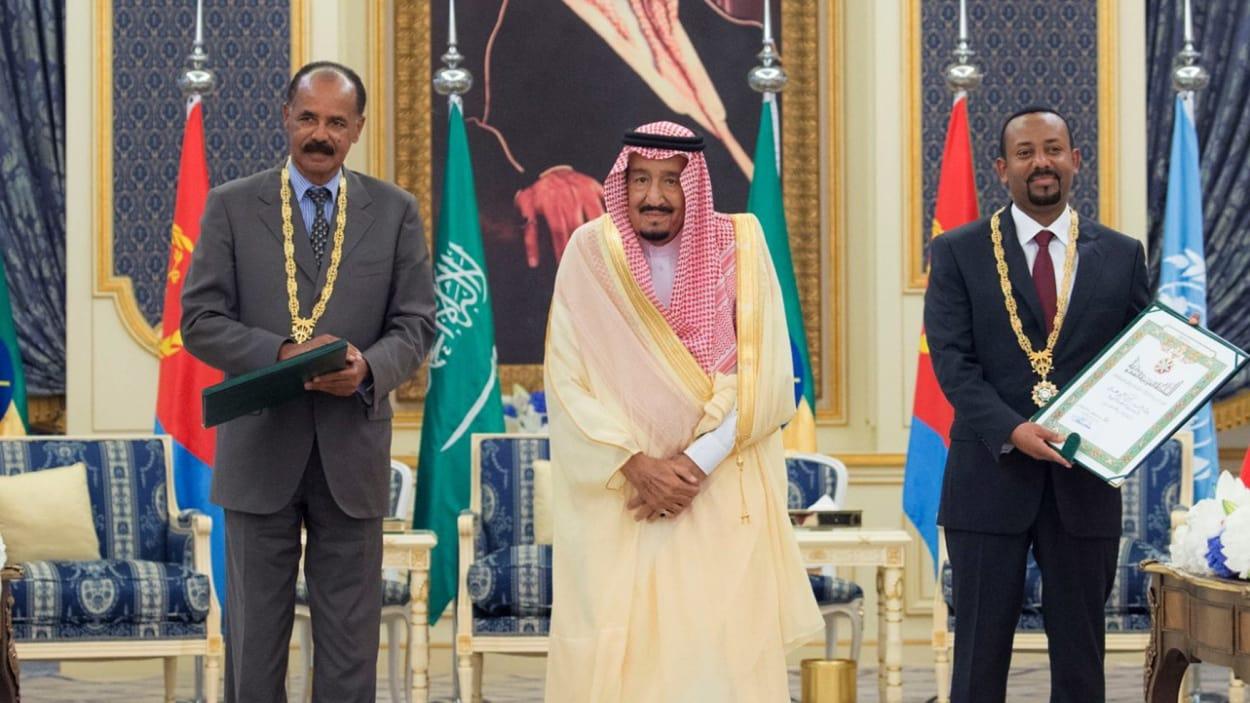 L'Ethiopie et l'Érythrée signent un accord de paix en Arabie saoudite