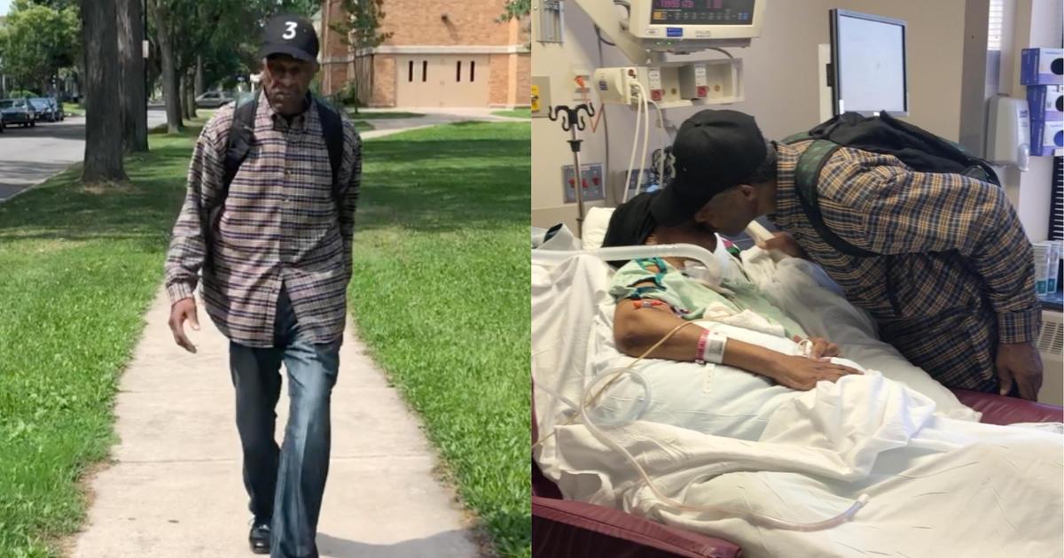 A 99 ans, il marche 9 km par jour pour voir sa femme hospitalisée