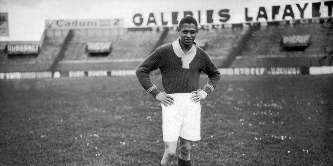 Raoul Diagne, premier joueur Noir en équipe de France