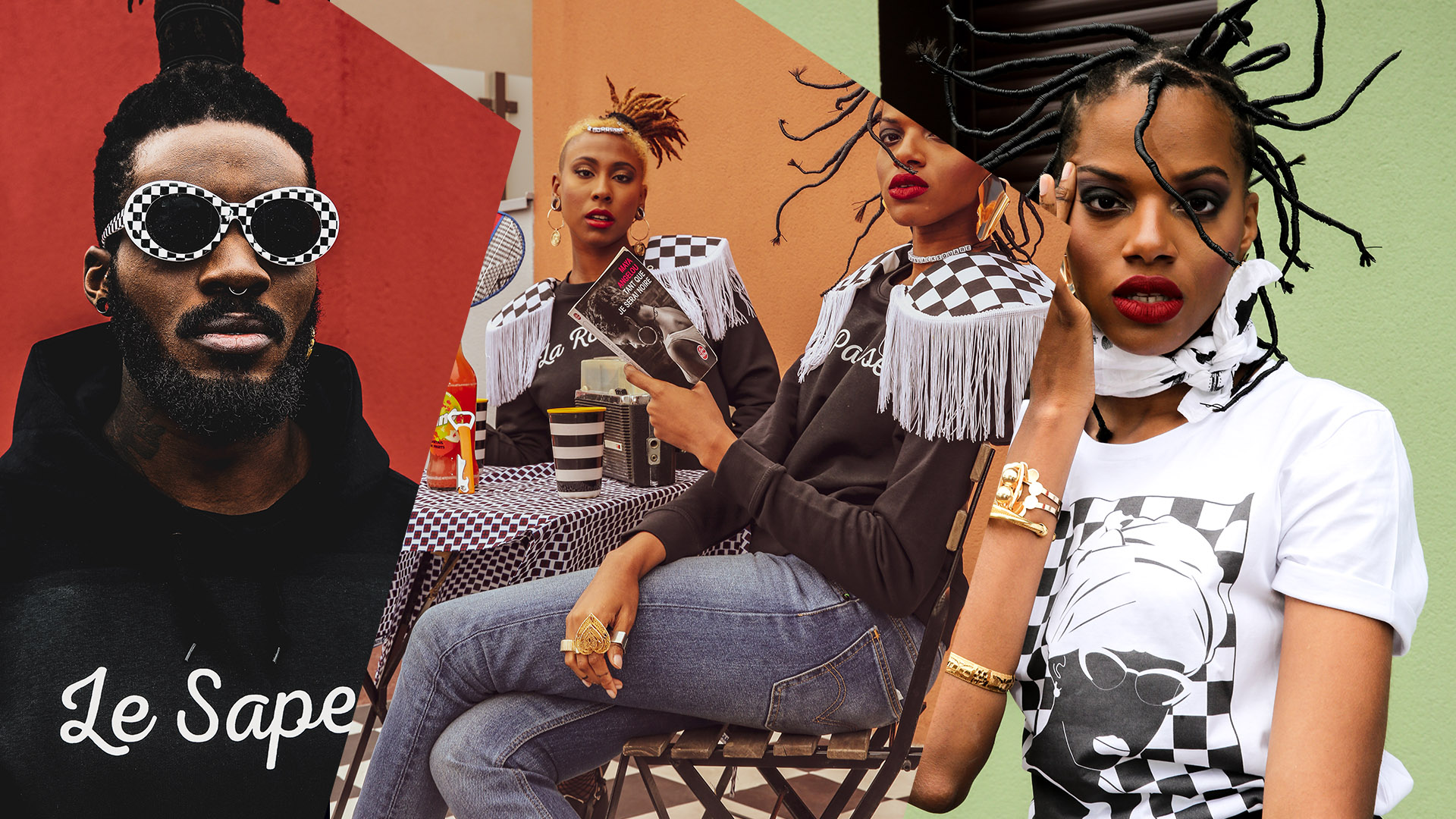 Afrikanista présente sa nouvelle collection en collaboration avec Black Square