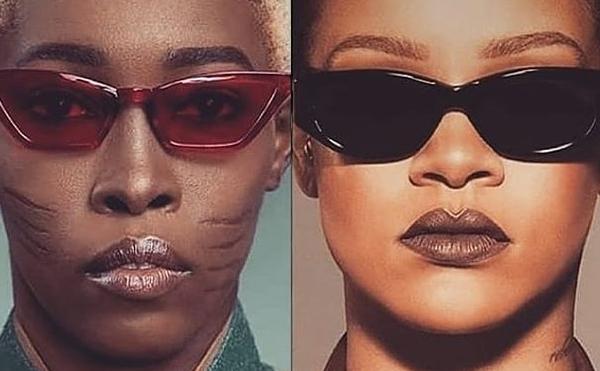 Une mannequin à scarifications attire l'attention de la marque de Rihanna
