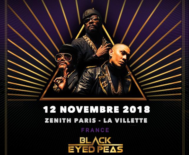 [TERMINE] Concert des Black Eyed Peas
