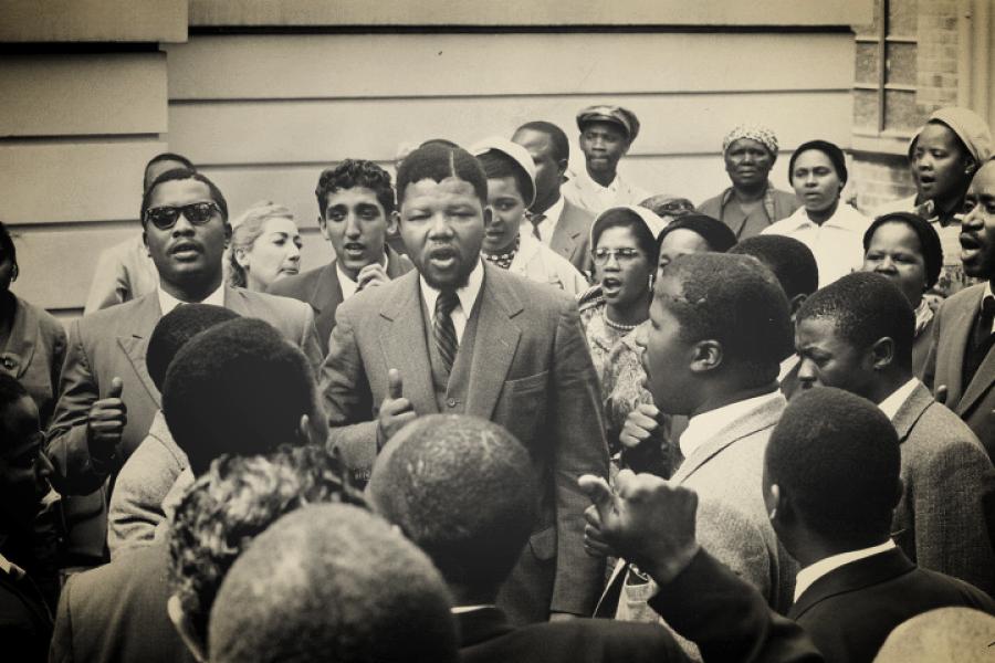 La plaidoirie de Nelson Mandela lors du procès de Rivonia