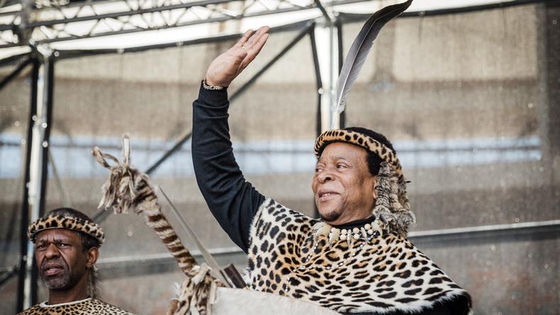 Afrique du Sud: le roi Zoulou contre l'expropriation des fermiers blancs