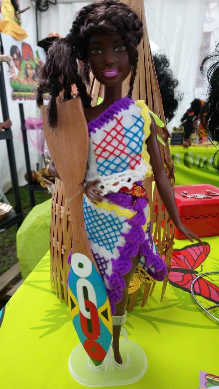 Yana doll, ces poupées à l'effigie des héroïnes qui ont fait le Suriname: I/ Paanza