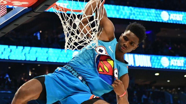 Hamidou Diallo remporte le concours NBA Slam Dunk