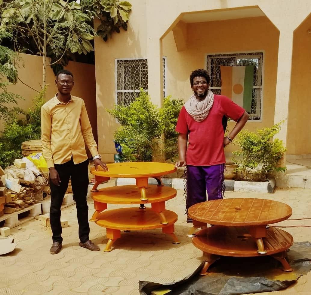 Au Niger, Assan Ag Midal donne une seconde vie aux palettes