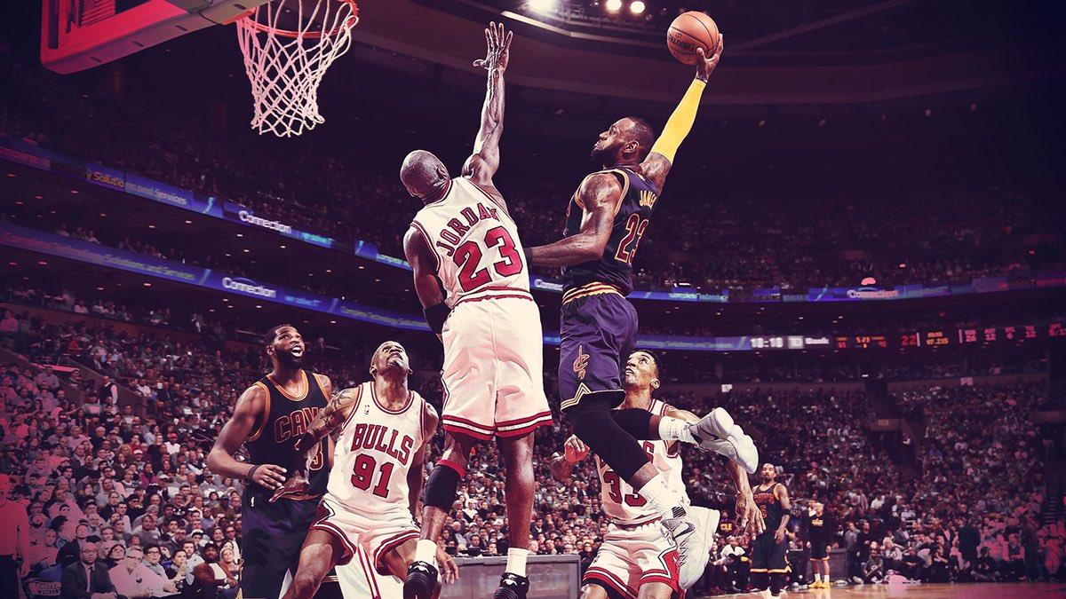 King James vole la 4ème place de meilleur scoreur NBA à Air Jordan