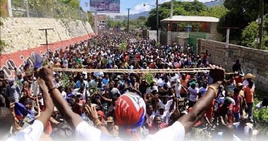 Soutenez le soulèvement populaire en Haïti !