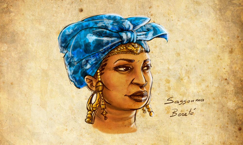 Sassouma Bérété, la femme de poigne à l'origine de l'empire du Mali