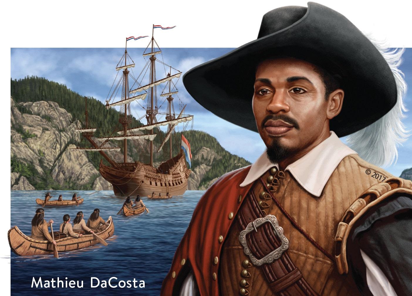 Mathieu da Costa, le premier Noir libre à atteindre le Canada
