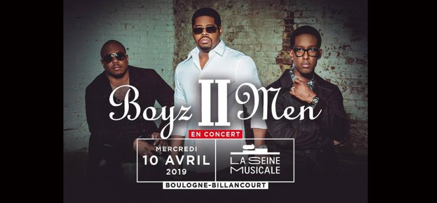 [JEU CONCOURS] Concert des Boyz II Men