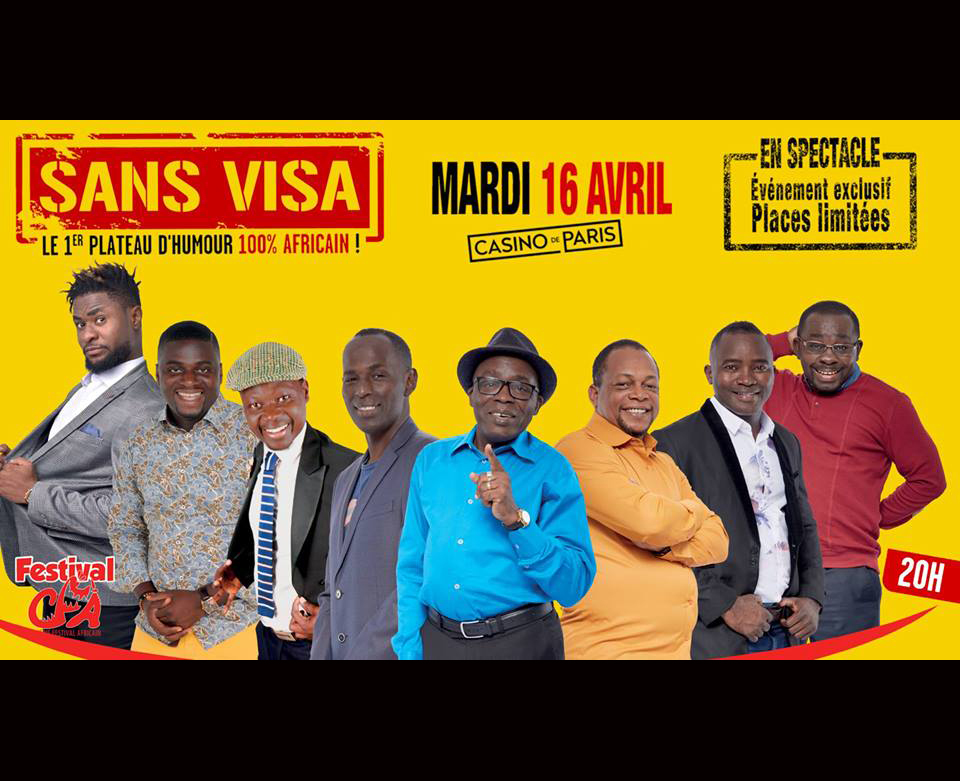 [JEU CONCOURS] Spectacle «Sans Visa 3»