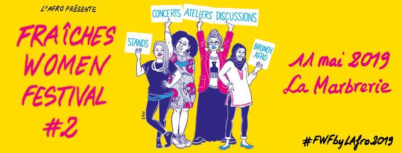 Fraîches Women Festival party II: le retour du festival féminin parisien