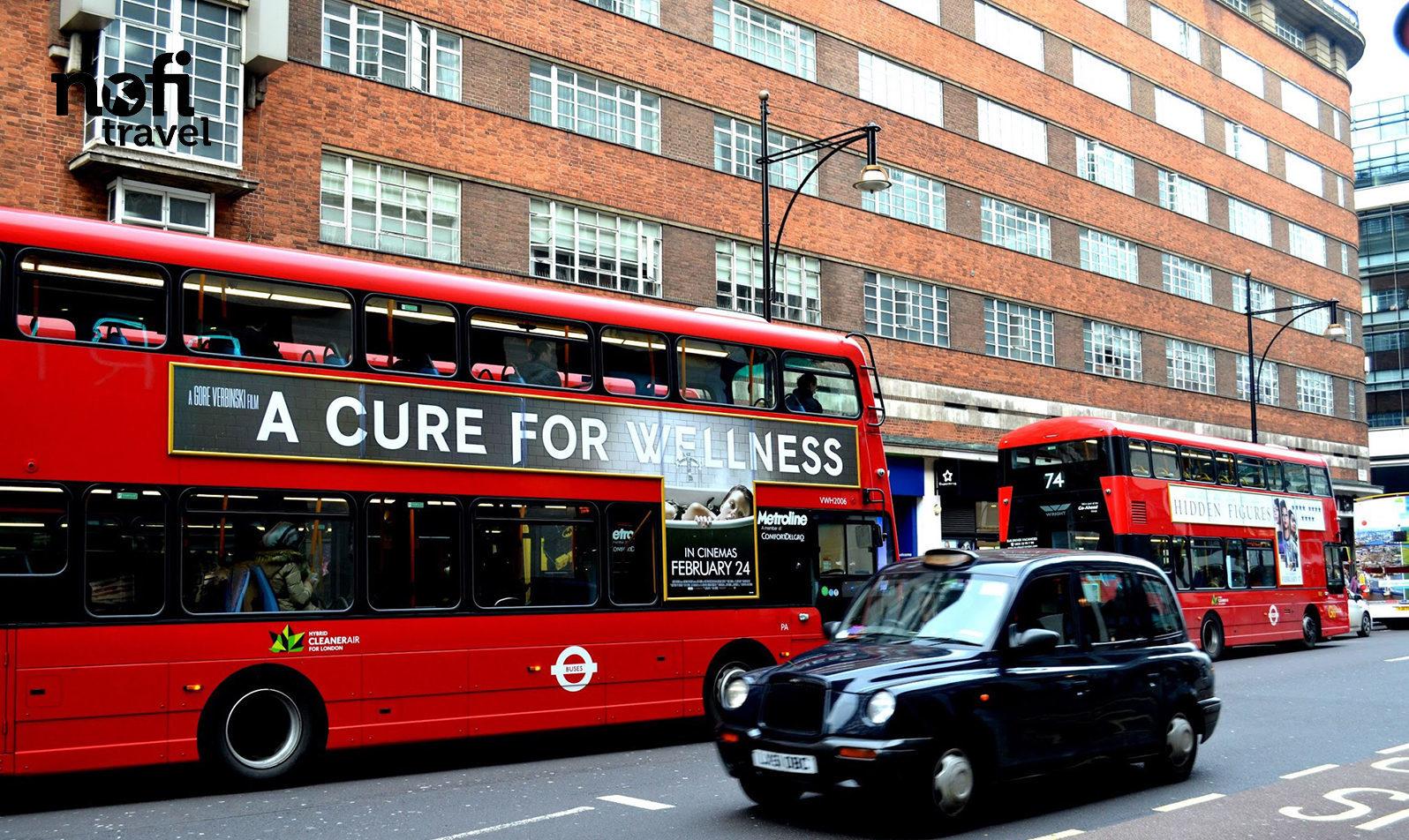 Nofi TRAVEL #3: la capitale Londonienne de jour comme de nuit!
