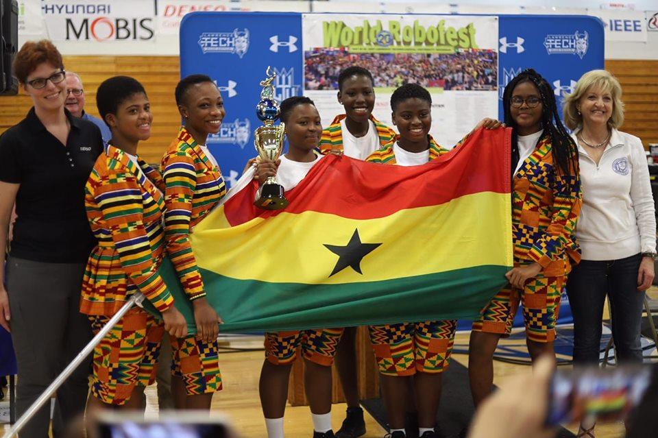 ROBOFEST 2019: L'équipe féminine ghanéenne championne du monde!