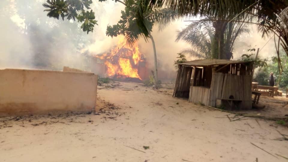 L'école panafricaine Ecolojah ravagée par un incendie