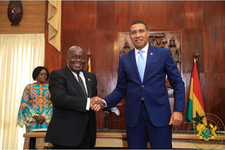 Plus d'obligation de visa entre le Ghana et la Jamaïque