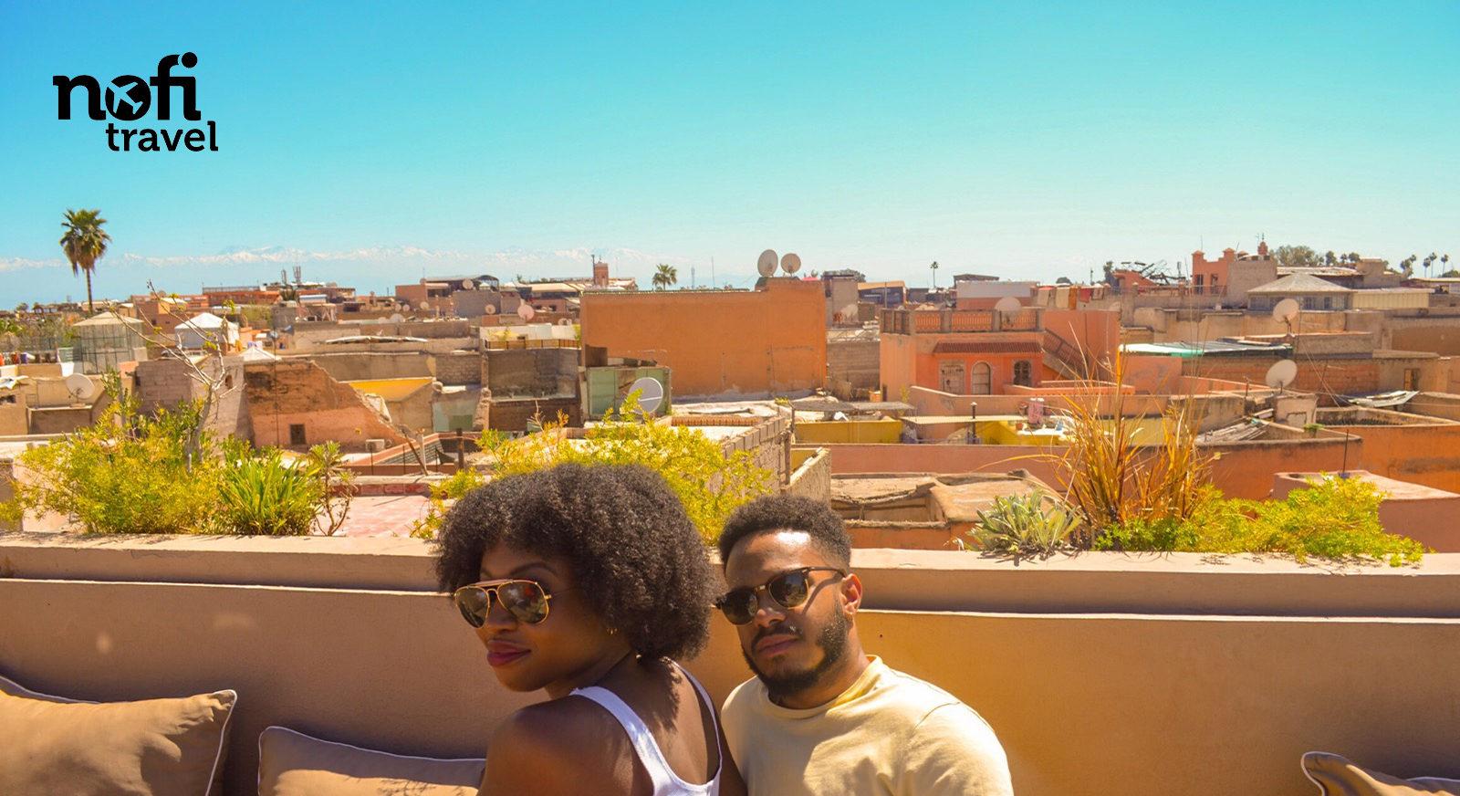 Nofi TRAVEL #8: En route pour Marrakech la ville rouge!