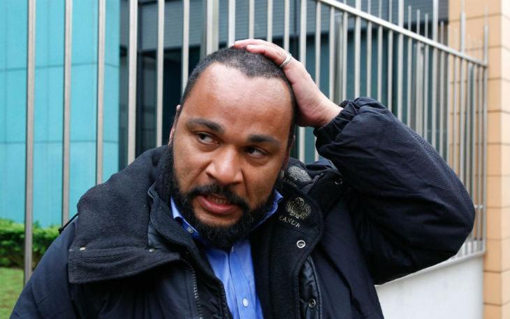 L'humoriste Dieudonné condamné à deux ans de prison ferme