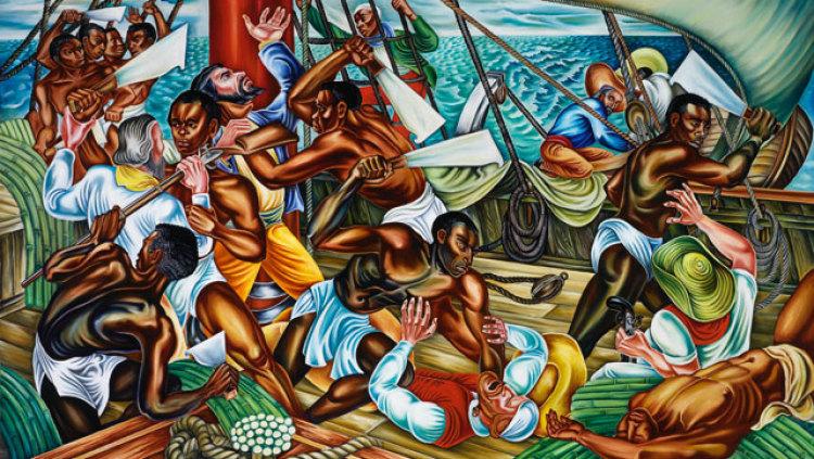 La révolte d'Africains déportés du Marlborough
