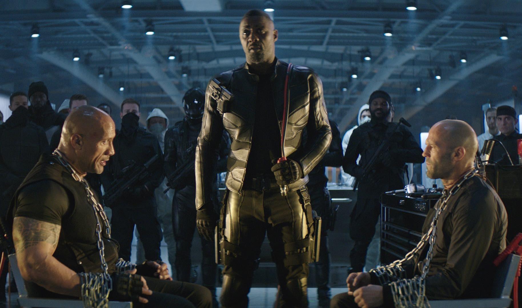 FAST & FURIOUS : Comment Idris Elba et The Rock ont fait le Shaw!