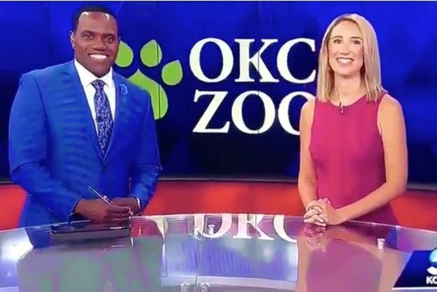 Une présentatrice TV compare son collègue noir à un gorille