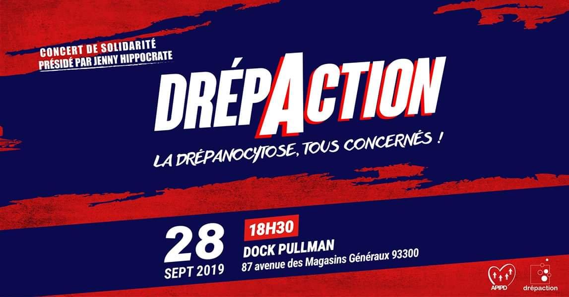 Concert de solidarité DREPACTION : «Sur scène pour briser le silence !»
