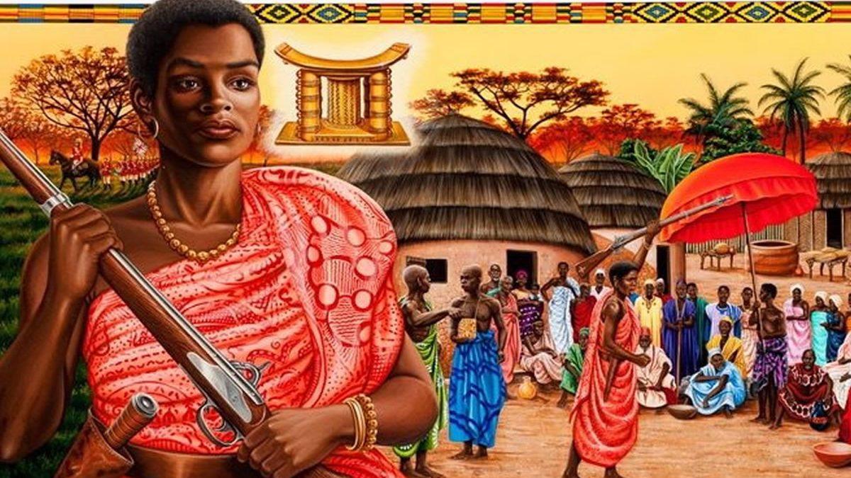 La société matriarcale et matrilinéaire des Ashanti