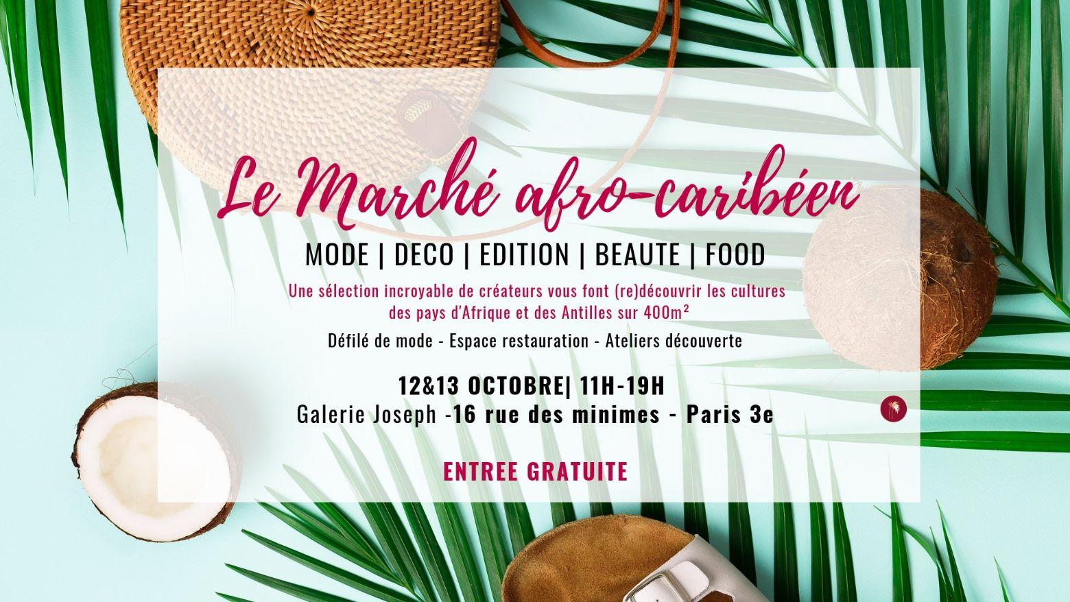 Le Marché Afro-Caribéen vous donne rendez-vous les 12 et 13 octobre!