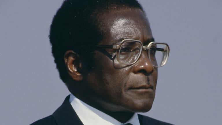 Robert Mugabe, héros de l'indépendance et président du Zimbabwe