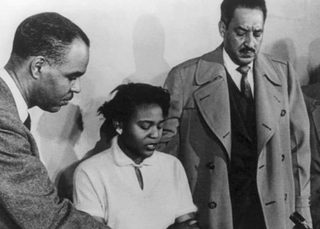 Autherine Lucy, 1ère étudiante noire à fréquenter l'Université de l'Alabama