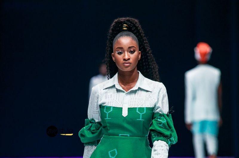 Cette tendance capillaire a été repérée à la Fashion Week de Lagos