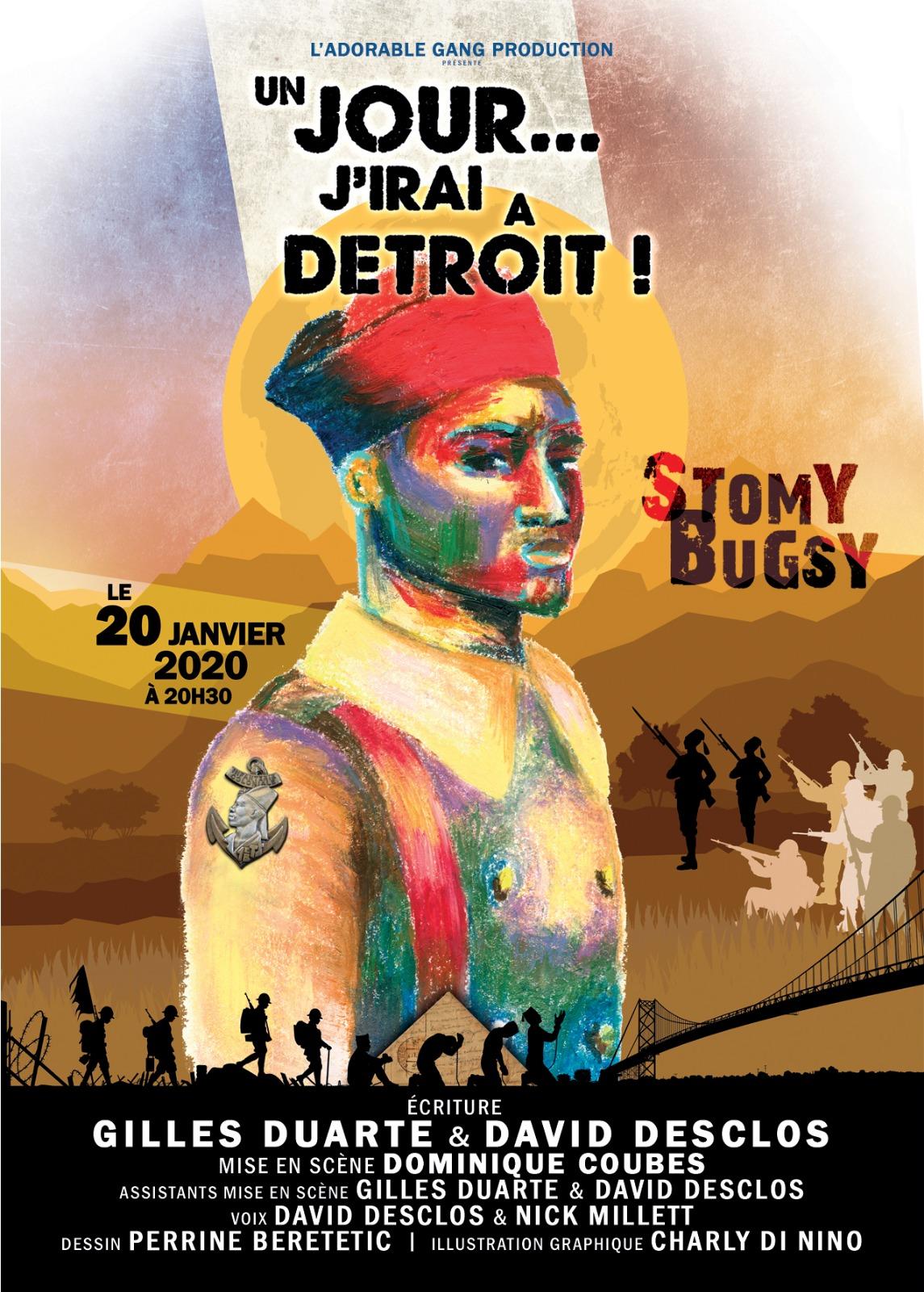 [TERMINE] JEU CONCOURS Stomy Bugsy au théâtre dans «Un jour…j'irai à Détroit!»