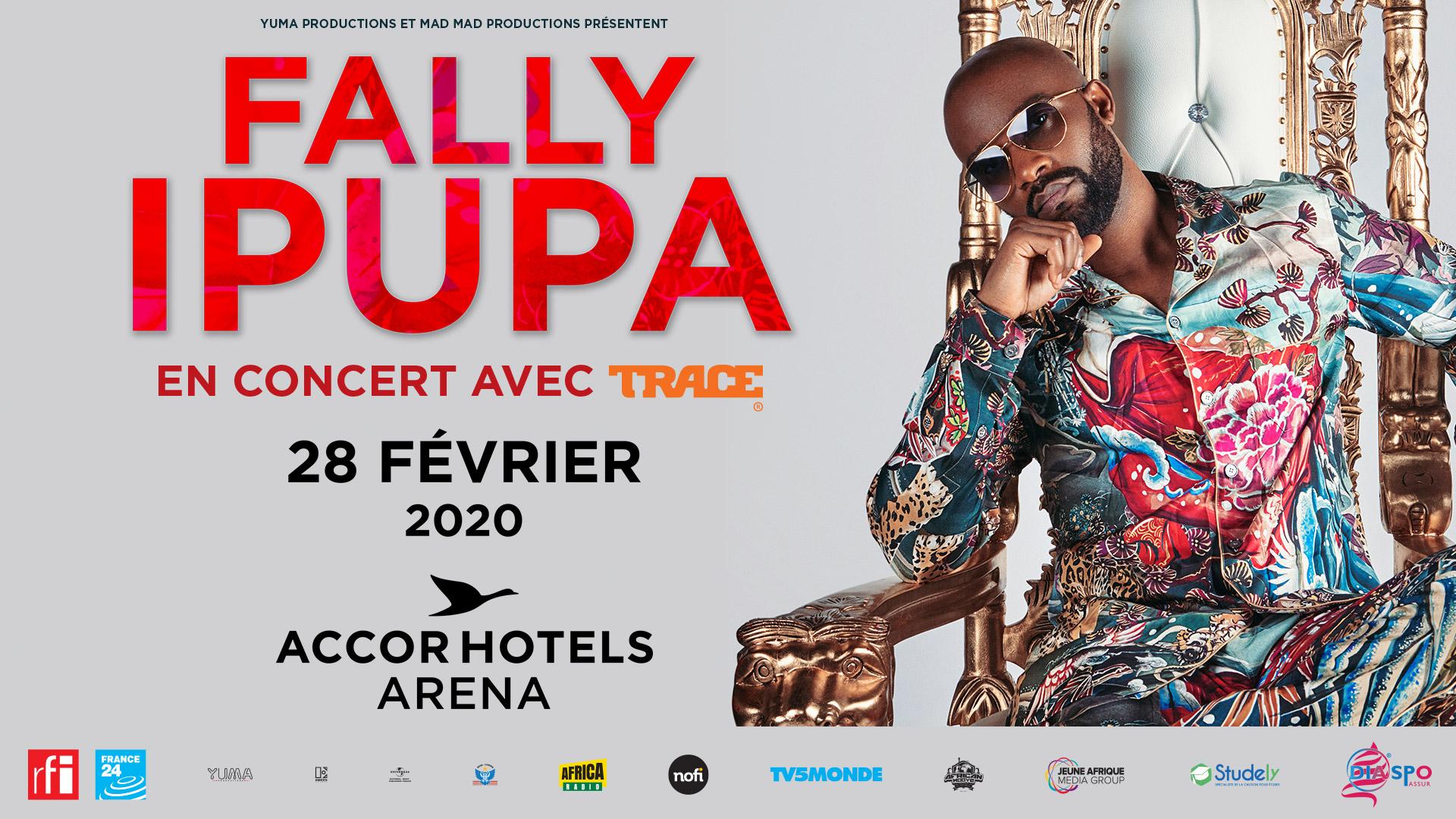 [TERMINE]Jeu-Concours- Concert de Fally Ipupa le 28 février à Paris!!