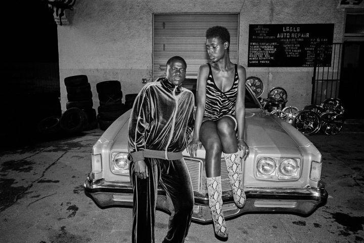 Daniel Kaluuya et Jodie Turner-Smith dans «Queen & Slim»