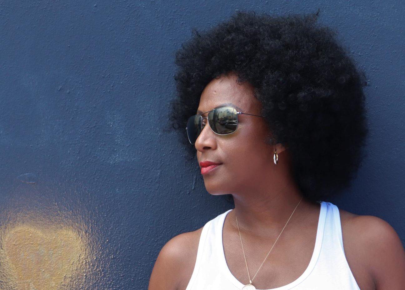 Guylaine Conquet, l'artiste qui célèbre le cheveu naturel